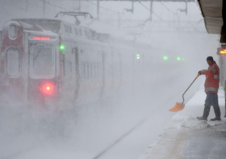 Image: US-WEATHER-SNOW