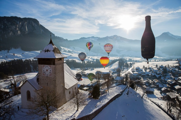 Image: 38th International Balloon Festival of Chateau-d'oex