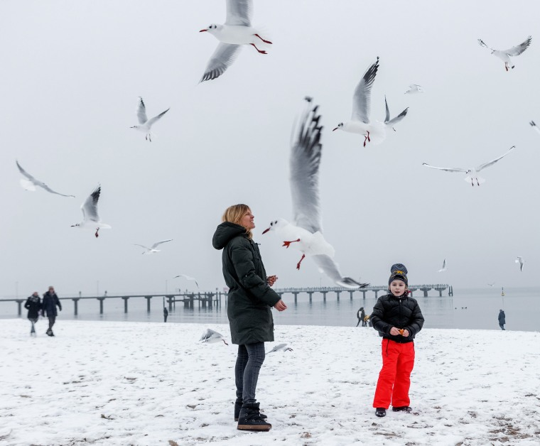 Image: Winter weather at the Baltic Sea coast