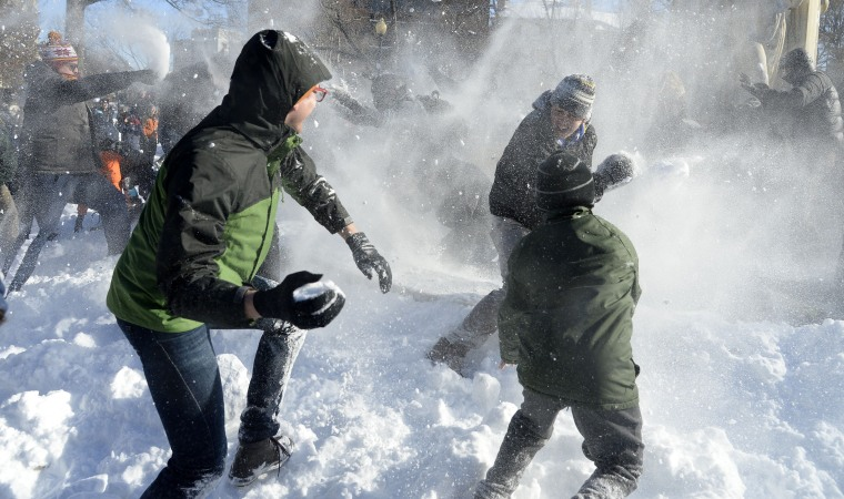 Image: snow storm