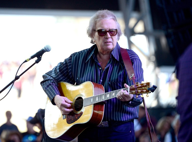 Image: FILE - American Pie Singer Don McLean Arrested For Domestic violence 2014 Stagecoach California's Country Music Festival - Day 2