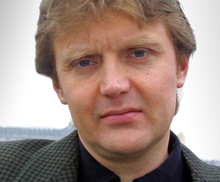 Image: Alexander Litvinenko in 2002