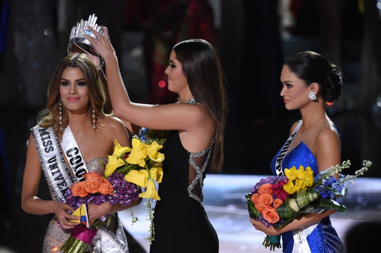 Image: The 2015 Miss Universe Pageant