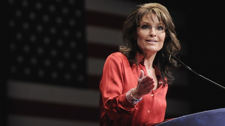 Sarah Palin speaks to the Conservative Political Action Conference (CPAC) in Washington