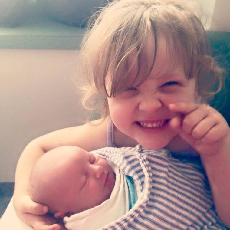 Riley and Olivia Hughes