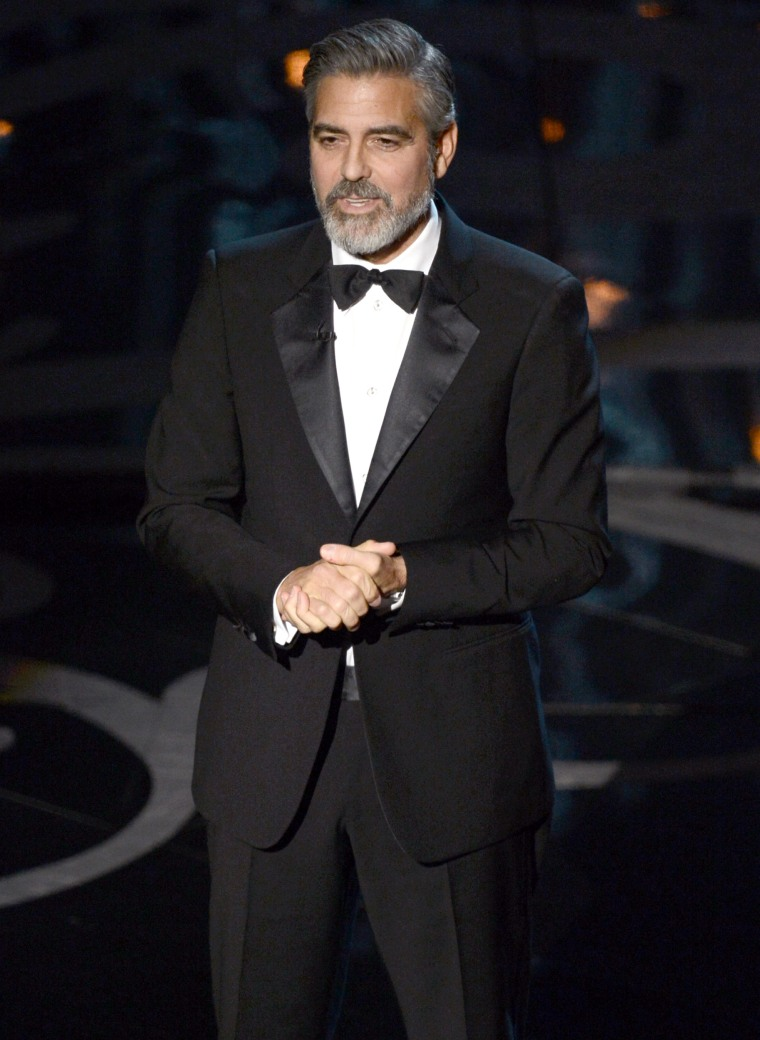 George Clooney speaks out on all-white Oscars