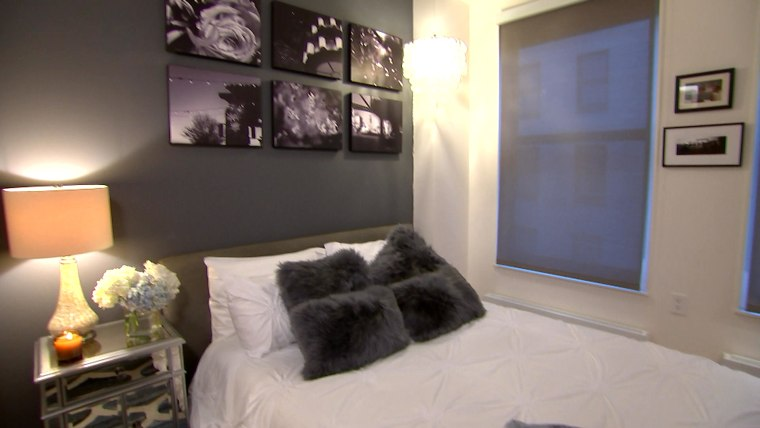Savannah Guthrie's guest room after its makeover.