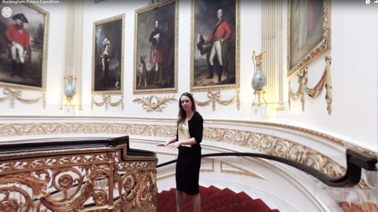 Image: Buckingham Palace tour now available online in 3D