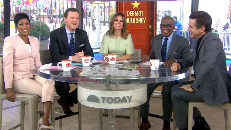 Dermot Mulroney takes the hot seat on TODAY.