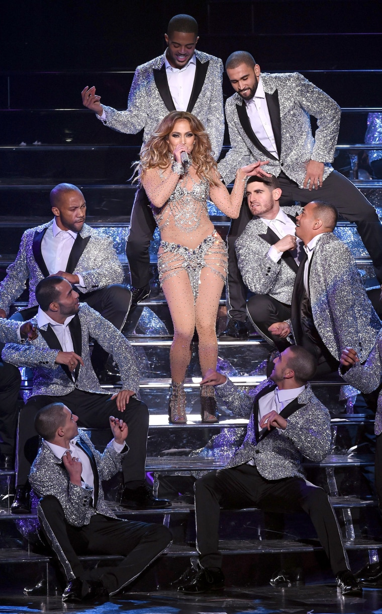 """Image: Jennifer Lopez Launches """"JENNIFER LOPEZ: ALL I HAVE"""" At Planet Hollywood In Las Vegas - Show"""