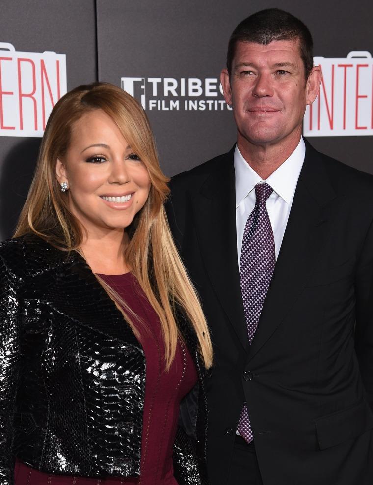 Image: FILE: Mariah Carey Engaged To James Packer