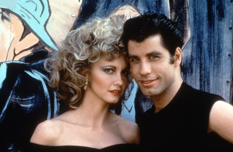 GREASE, Olivia Newton-John, John Travolta, 1978. © Paramount Pictures/ Courtesy: Everett Collection