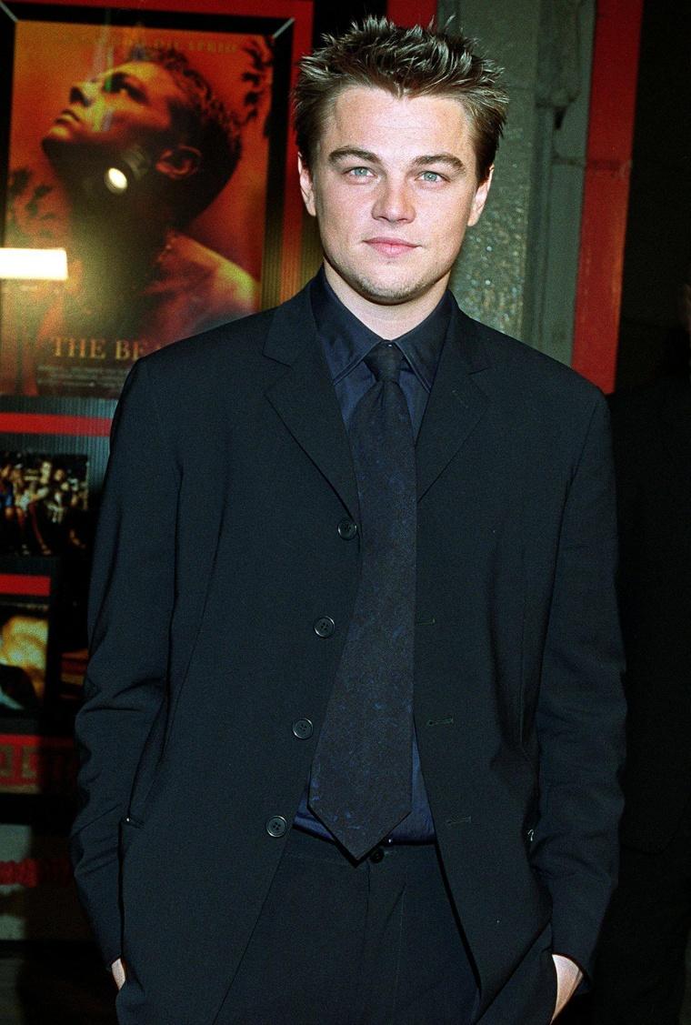 US actor Leonardo DiCaprio arrives at the premiere