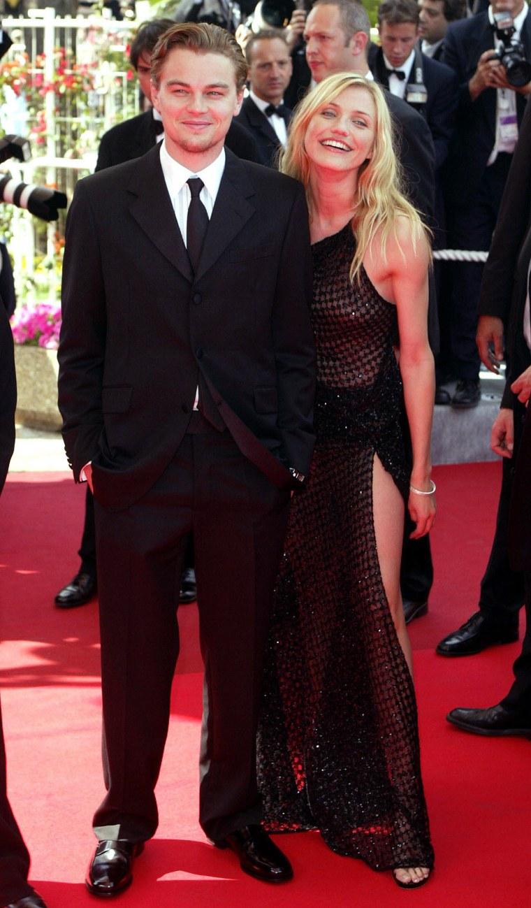 Cameron Diaz and Leonardo DiCaprio