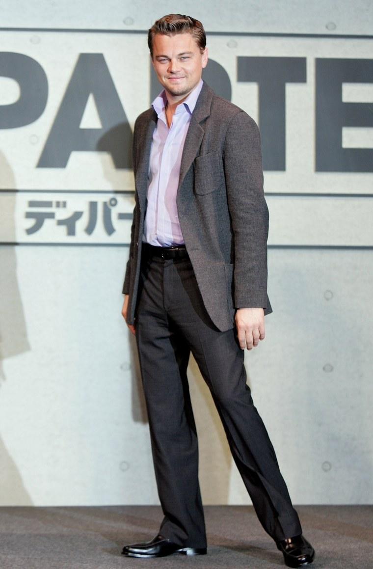 "Leonardo DiCaprio Promotes \""The Departed\"" In Tokyo"