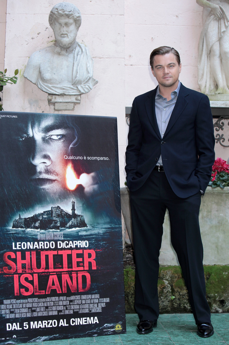 "\""Shutter Island\"": Rome Photocall"