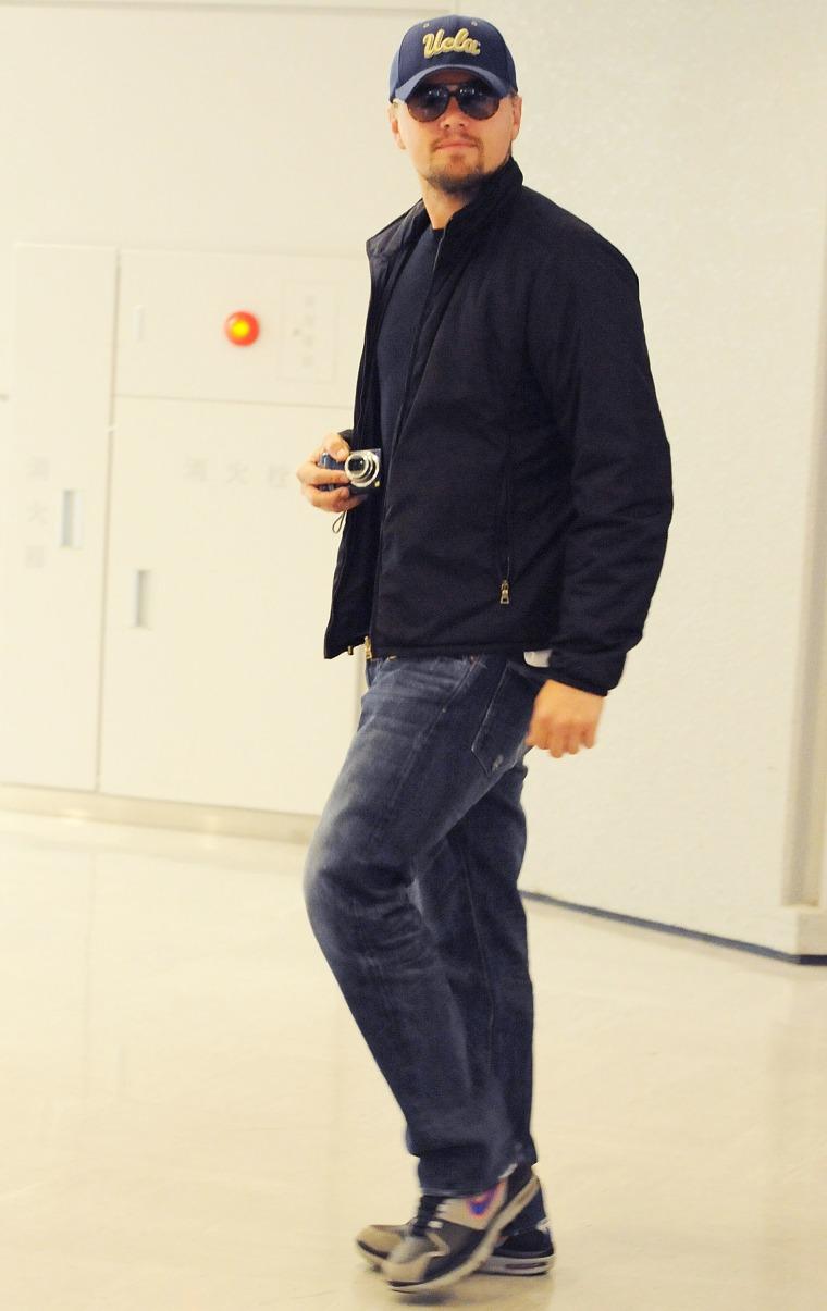 Leonardo DiCaprio Arrives In Japan - March 10, 2010