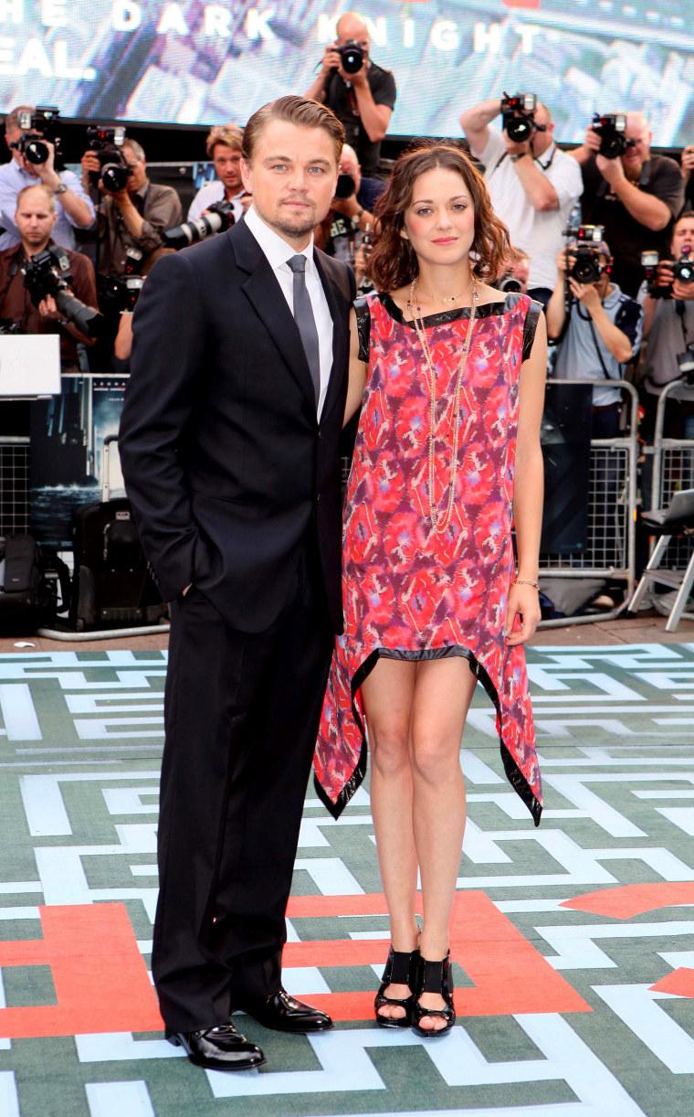 Inception - UK Film Premiere Inside Arrivals