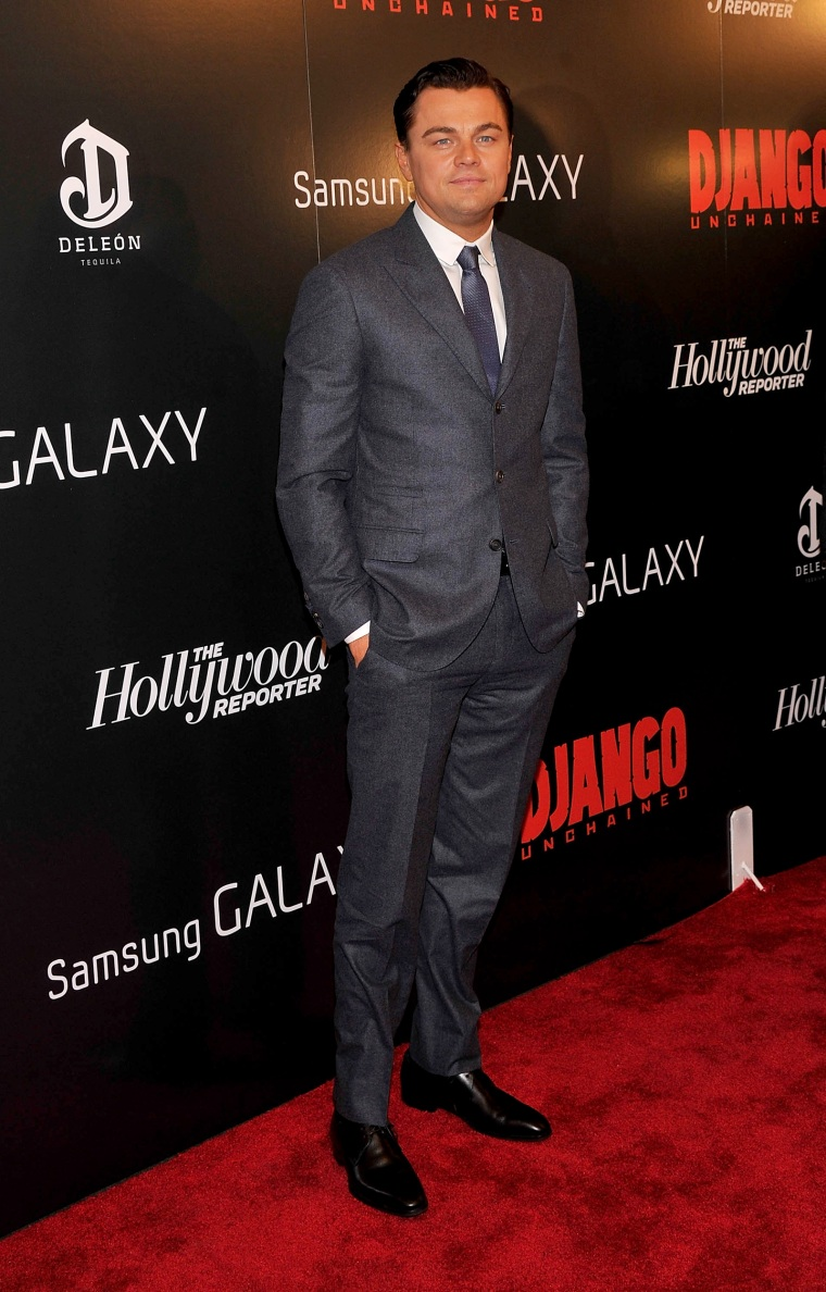 """The Weinstein Company With The Hollywood Reporter, Samsung Galaxy And The Cinema Society Host A Screening Of \""""Django Unchained\""""  - Arrivals"""