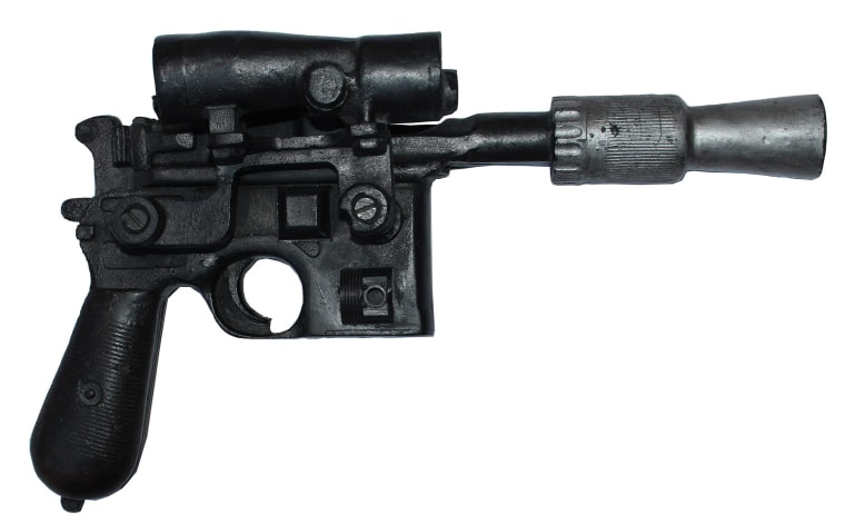 Luke Skywalker's DL-44 Blaster.