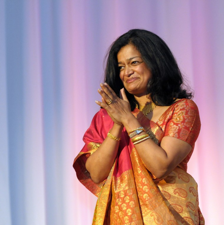 Pramilla Jayapal at a 2012 for OneAmerica. Jayapal, currently a state senator in Washington, announced her candidacy for the House of Representatives last week.