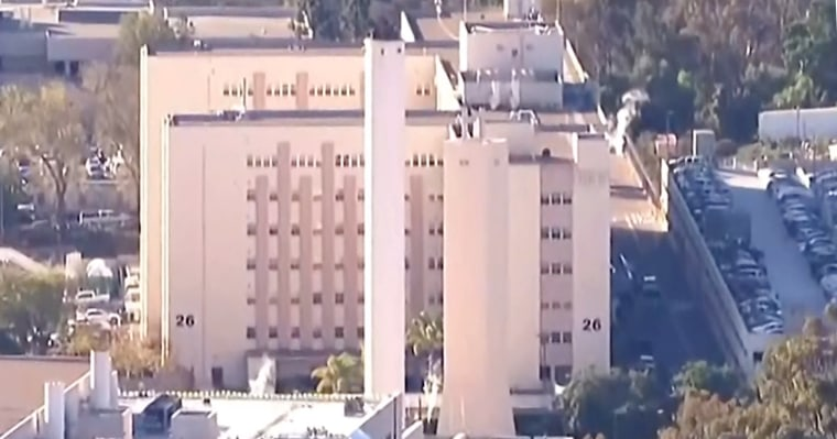 Naval Medical Center San Diego warned of a possible active shooter at the military hospital Tuesday morning.