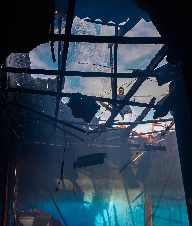 Image: Masiphumelele house fire