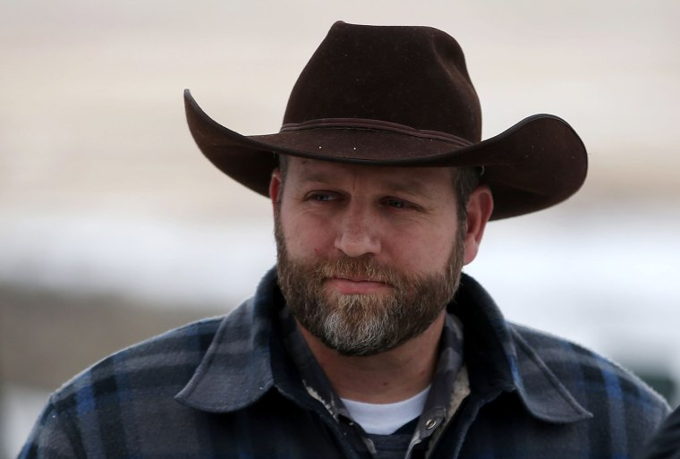 Image: Ammon Bundy, the leader of an anti-government militia