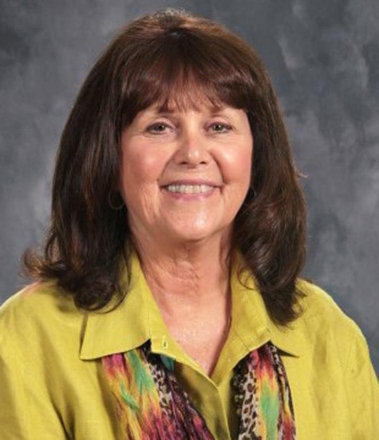 Susan Jordan, the principal of Amy Beverland Elementary School in Indiana.