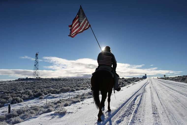 nti-Government Protesters Occupy National Wildlife Refuge In Oregon