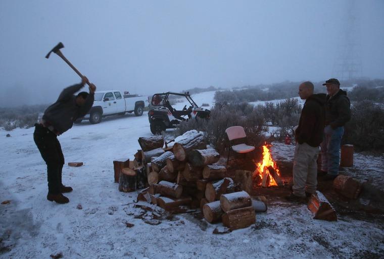 Image: Anti-Government Protestors Occupy National Wildlife Refuge In Oregon