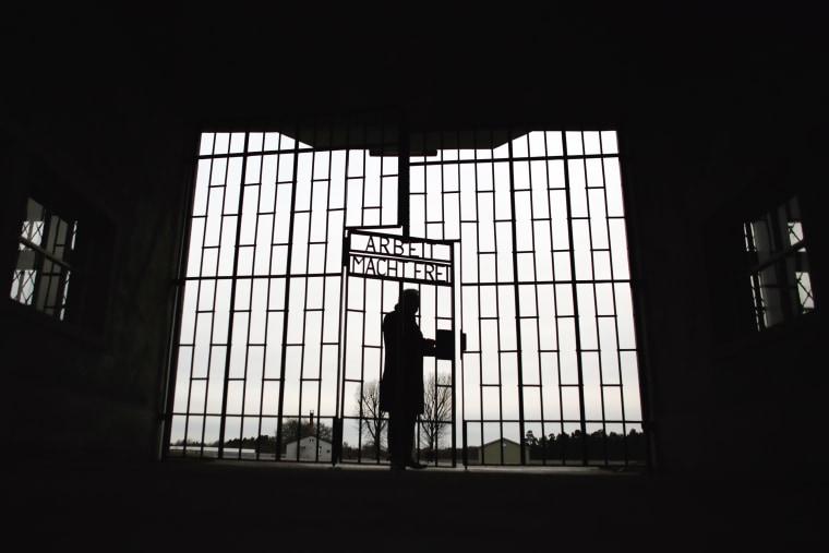 Image: Sachsenhausen Nazi death camp, International Holocaust Remembrance Day