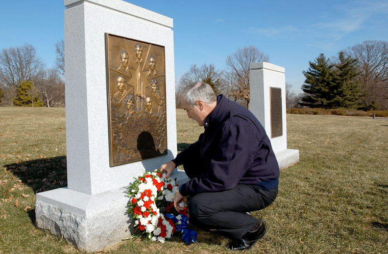 """Image: Each January, NASA recalls the Challenger explosion as well as other space tragedies on a \""""Day of Remembrance."""