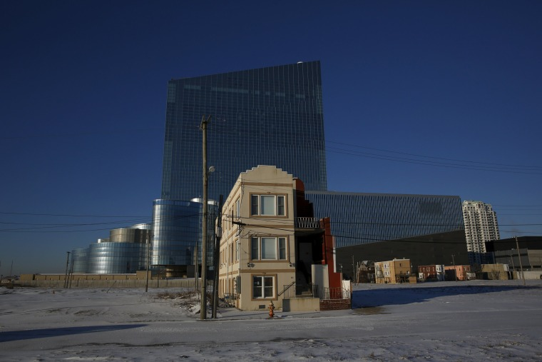 Image: House near the Revel Atlantic City