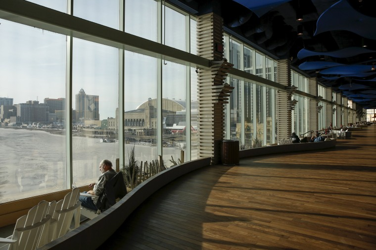 Image: Windows of the Playground Pier in Atlantic City