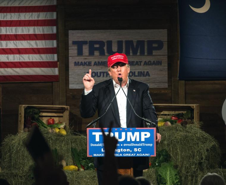 Image: Donald Trump in South Carolina