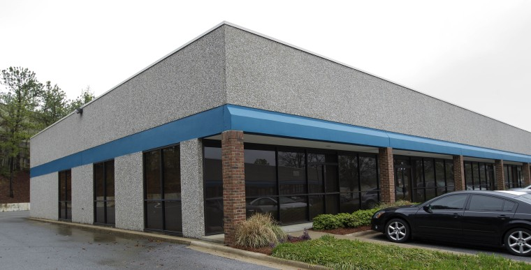 The Meds IV offices in Birmingham, Ala., are pictured on Wednesday, March 30, 2011.