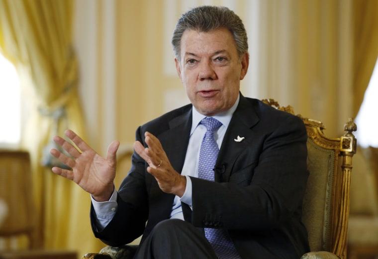 Image: Juan Manuel Santos