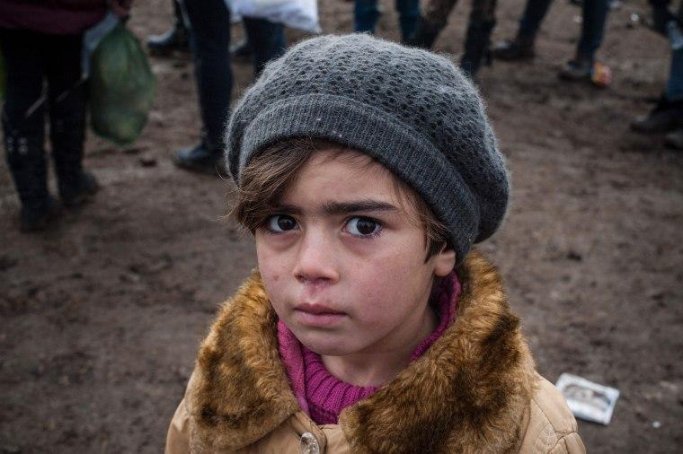 Image: Serbia-Macedonia Migrant