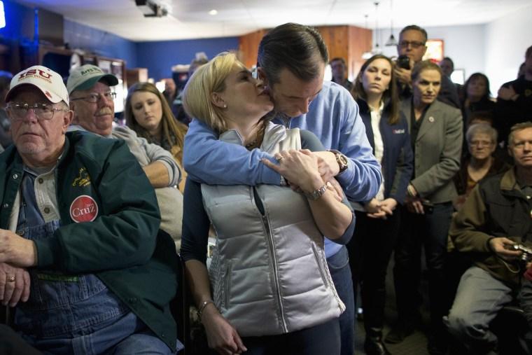 Image: Ted Cruz, Heidi Cruz