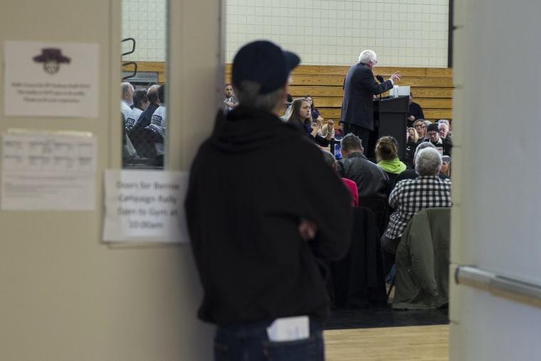 Image: Bernie Sanders Rally