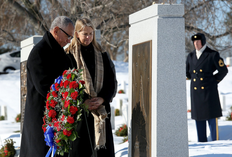 Image: NASA Holds Wreath Laying Ceremony At Arlington Cemetery On Day Of Remembrance