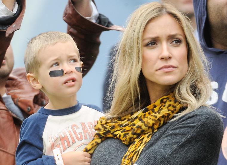 Kristin Cavallari holds son Camden
