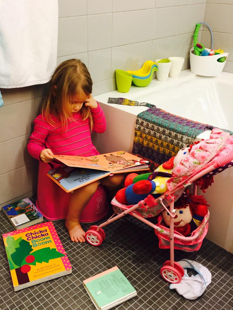 Jenna Bush Hager talks about potty-training her daughter Mila