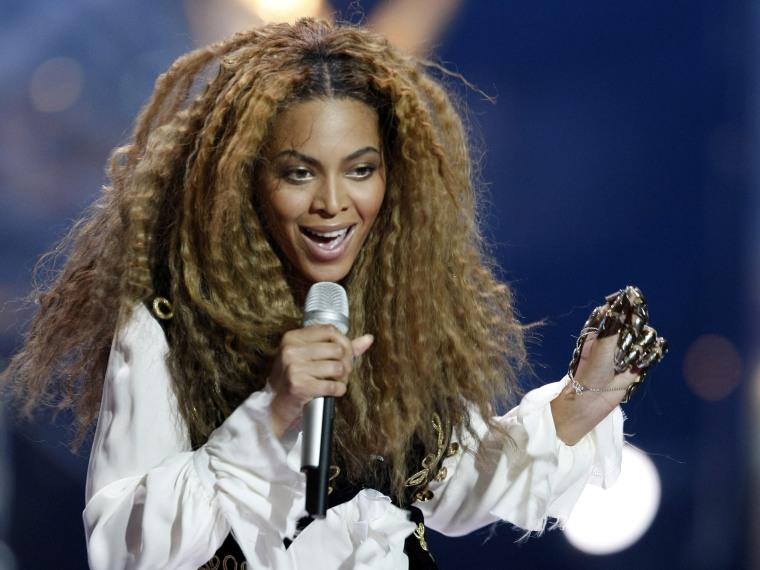Image: Singer Beyonce