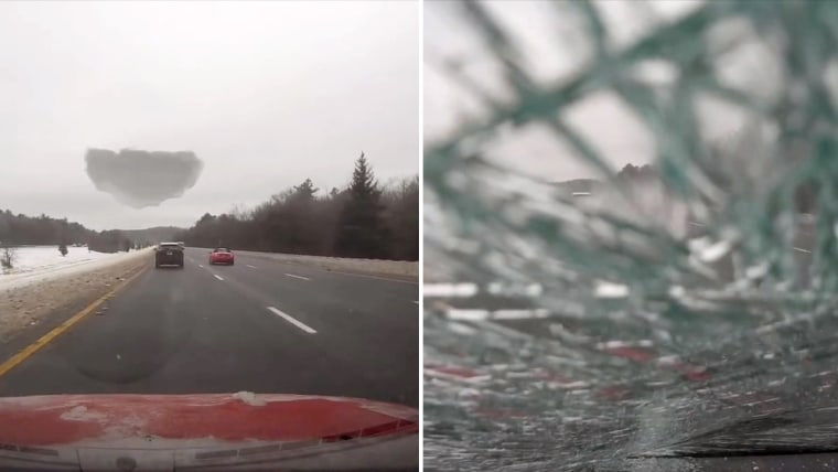 Rossen Reports on ice flying off cars