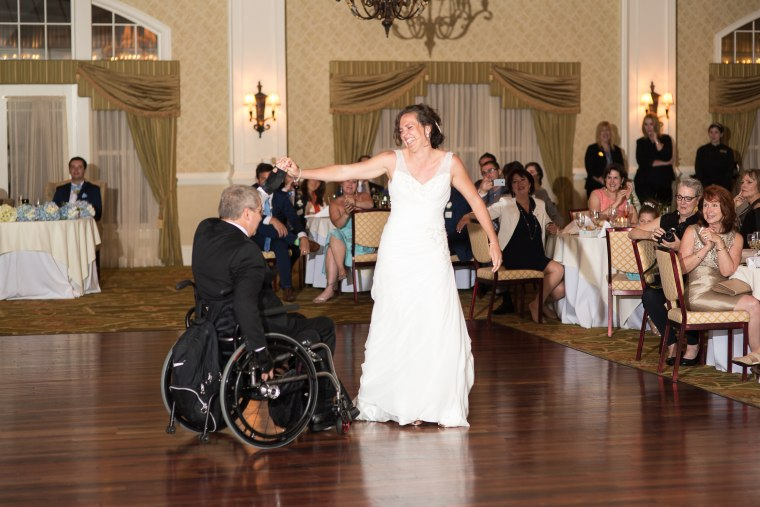 quadriplegic dad dance