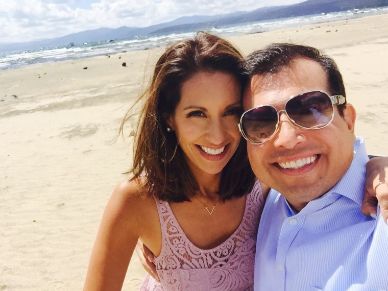 Granddaughter Leticia Ordaz and husband just celebrated their own 10th anniversary.