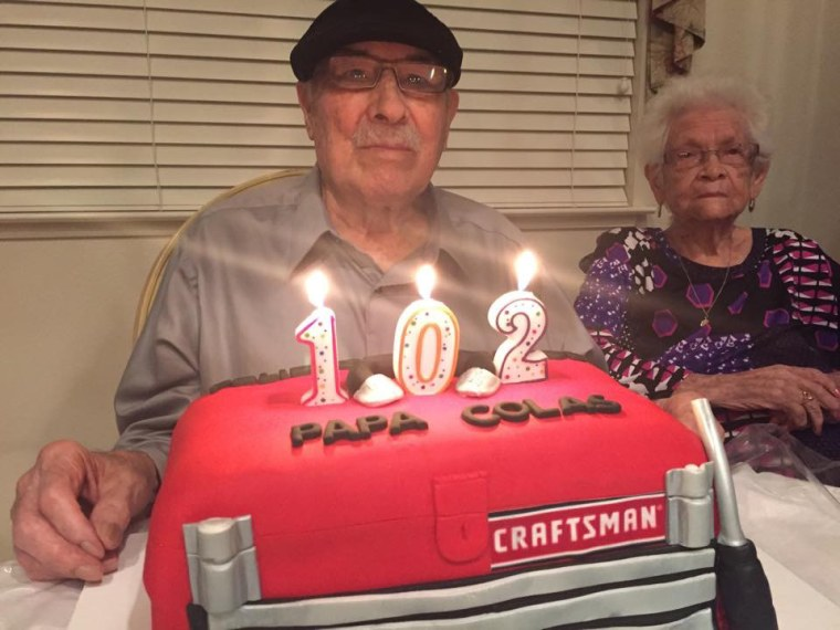 """""""They take care of each other,"""" granddaughter Leticia Ordaz said. """"At the party, he kept looking around to see if she had gotten any cake yet."""""""