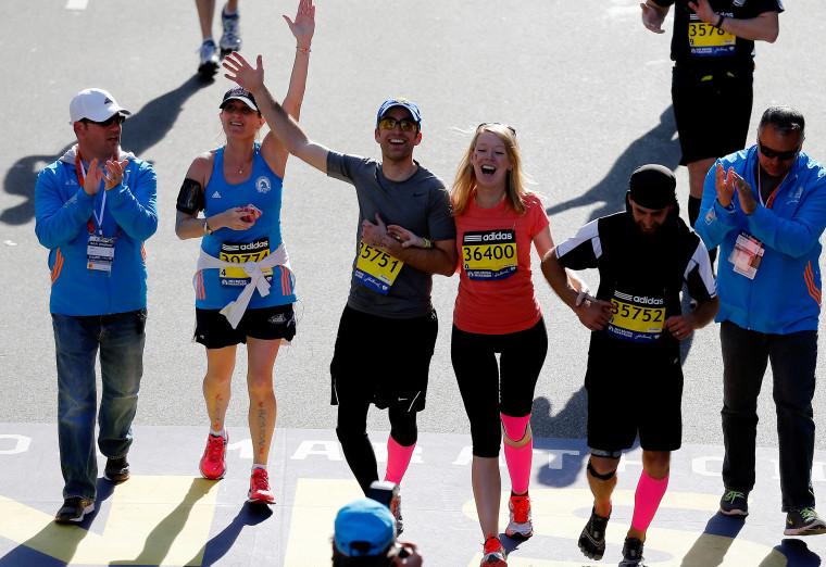 Boston Marathon bombing survivor Adrianne Haslet-Davis